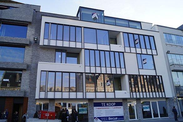 nieuwbouw appartement Kortrijk