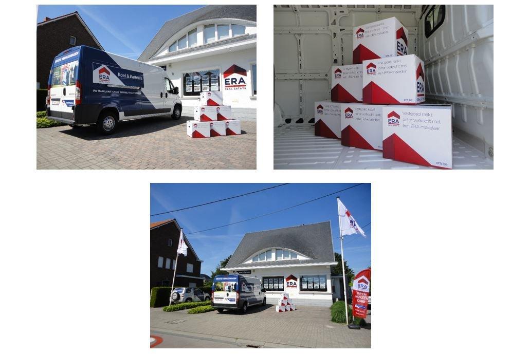 ERA Roel & Partners verhuiswagen