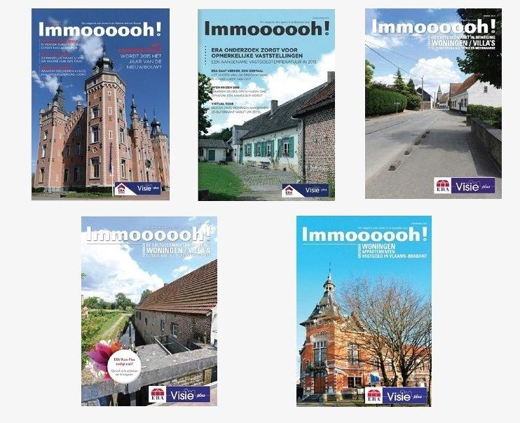 Immoooooh magazine van ERA Visie Plus - Vlaamse rand Brussel