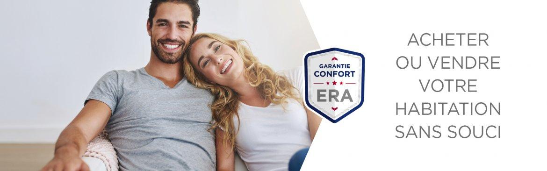 vendre ou achter sans souci avec la Garantie Confort ERA