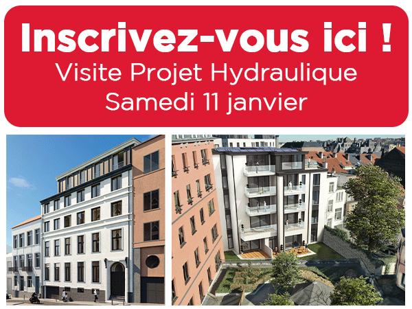 visite projet neuf hydraulique Bruxelles