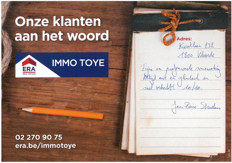 ERA Immo Toye - klanten aan het woord uit Vilvoorde 4