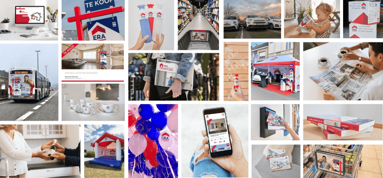 Le marketing de l'agence ERA Realim dans la région de Liège