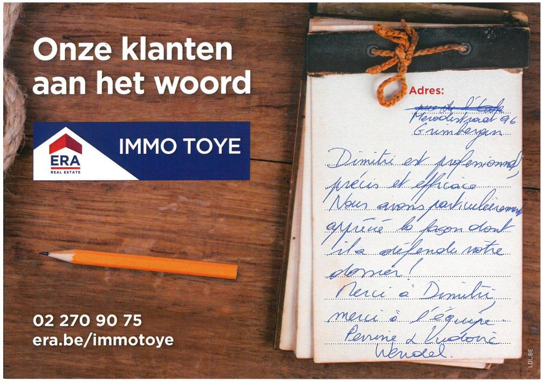 ERA Immo Toye - klanten aan het woord uit Grimbergen 7