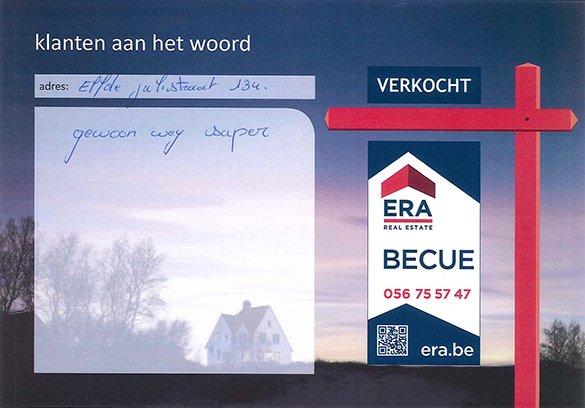 huis verkopen in Harelbeke, tevreden verkopers, immo Harelbeke