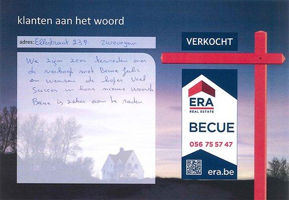 huis verkopen Zwevegem, ERA Becue, immo Zwevegem, woning verkopen