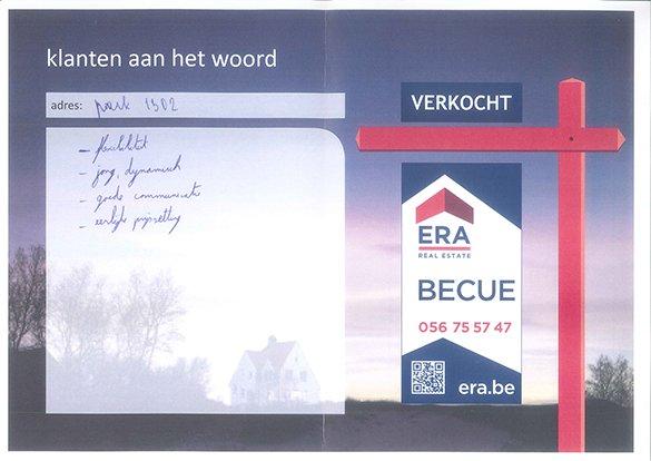 tevreden klant, nieuwbouw appartement, Park 1302, Kortrijk, ERA kortrijk