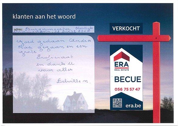 tevreden klanten, appartement kopen in Kortrijk