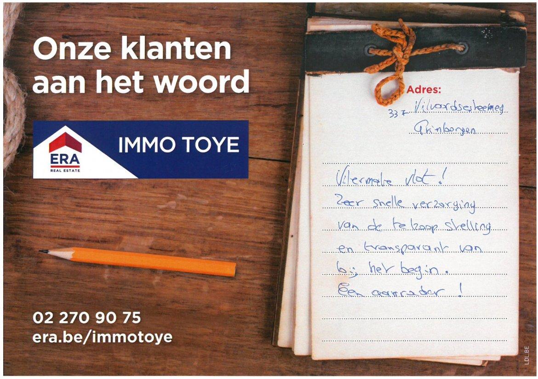 ERA Immo Toye - klanten aan het woord uit Grimbergen 8