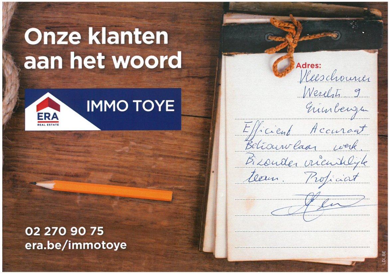 ERA Immo Toye - klanten aan het woord uit Grimbergen 5