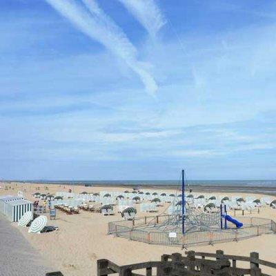 Maisons de vacance à la côte Belge à Coxyde