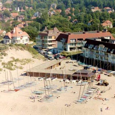 Maisons de vacance à la côte Belge à Sint-Idesbald