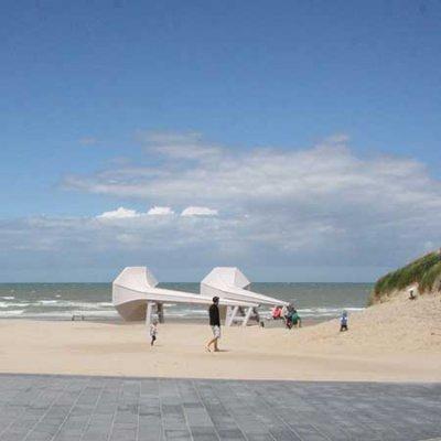 Maisons de vacance à la côte Belge à Westende