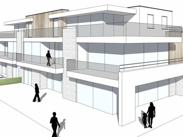 appartement te koop nieuwpoort, louisweg, residentie Marie-Louis