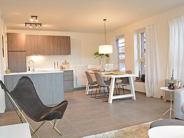 appartement te koop Harelbeke nieuwbouw project Molenkant wonen langs het water