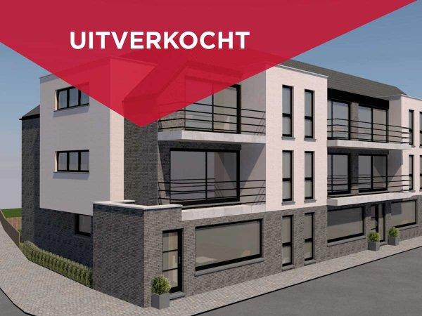 Niewbouwappartement te koop op het marktplein in Zwevezele - Residentie Bach
