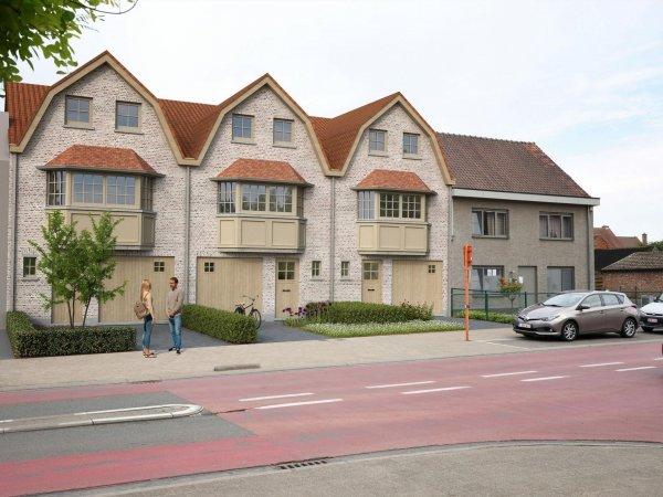 Bosdorp 3 nieuwbouwwoningen te koop Stekene