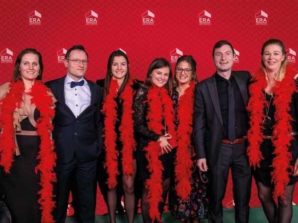 Een deel van ons team op de ERA Awards Night 2019 in Docks Dome Brussel