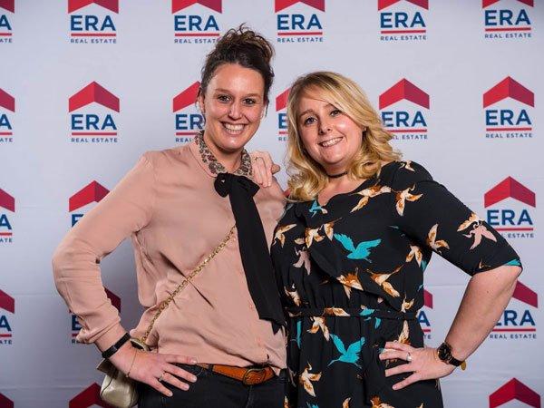 Kim & Deborah van ERA Koop en Woon Van Hoecke op de ERA Awards Night