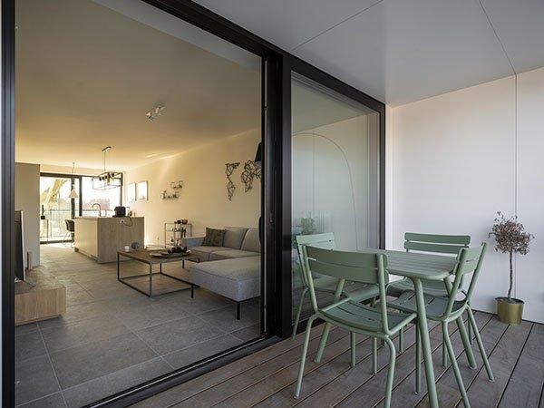 nieuwbouw appartementen te koop langs de vaart in Izegem