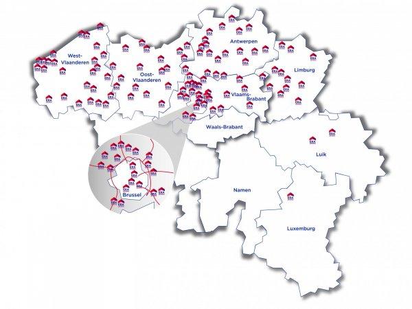 ERA België - immokantoren - vastgoed -grootste vastgoednetwerk