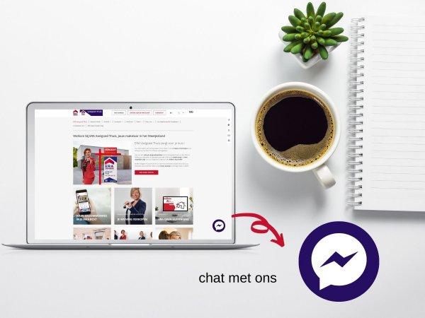Chat met ERA Vastgoed Thuis via Messenger