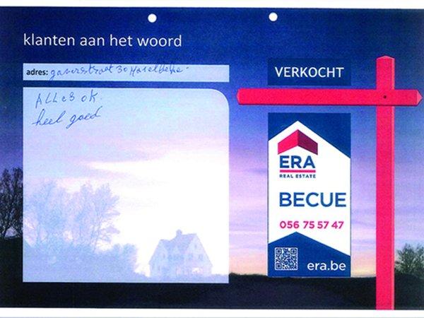 huis verkopen, tevreden klanten, getuigenis ERA Becue, testimonial