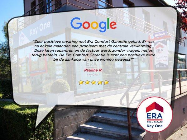 google review ERA KEY ONE - Lifestyle Spot - ERA Wemmel - Wemmel - vastgoed Wemmel - Immo Wemmel - Vastgoedkantoor Wemmel