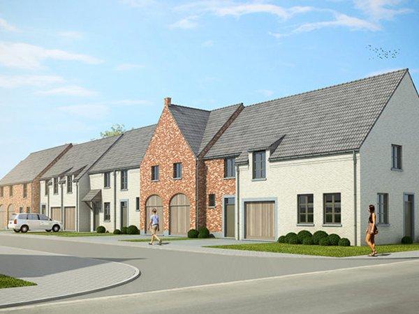 nieuwbouw woning in Heule, huis kopen, afwerkte woning kopen