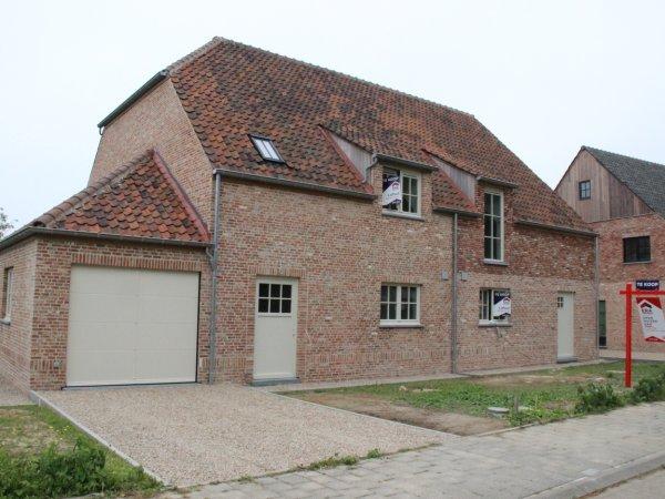 4 Halfopen nieuwbouwwoningen in Oudenaarde!