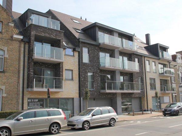 Nieuwbouw appartement te koop Veurne - Karelshof - immokantoor Veurne