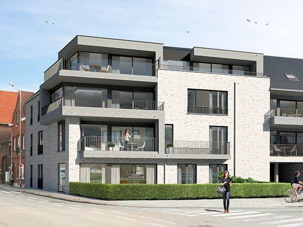 nieuwbouw karmeliet appartement te koop in Kortrijk