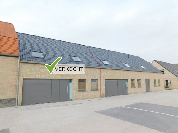 Nieuwbouw woning te koop Leisele - immokantoor Veurne