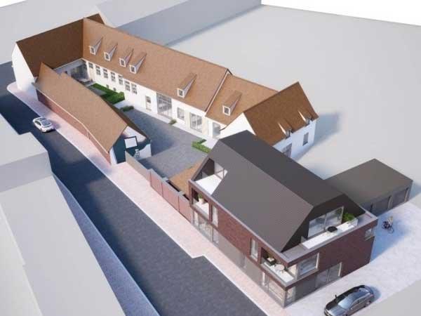 Nieuwbouw appartementen te koop Watou - Residentie Raveel