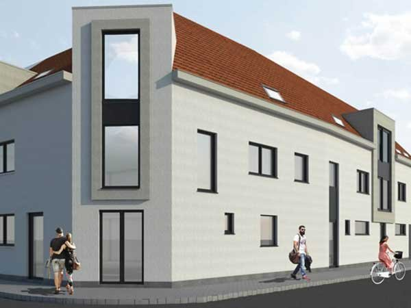 Nieuwbouwappartementen in Oostnieuwkerke - Residentie Boecks