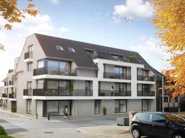 Nieuwbouwappartementen in Koolskamp - Residentie Permeke