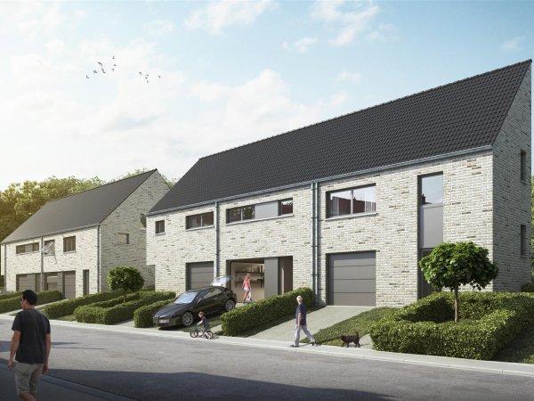 Nieuwbouw woningen 'Landhuisveld' te Strombeek-Bever