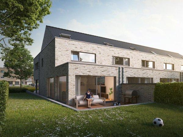 Nieuwbouw woningen 'Van Elewijck' te Strombeek-Bever