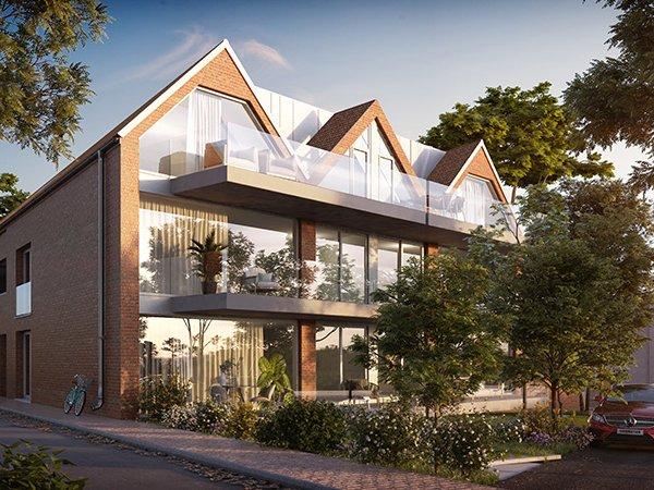 Residentie Vlasmeer te koop in Kuurne. nieuwbouw project op een boogscheut van het centrum van Kuurne