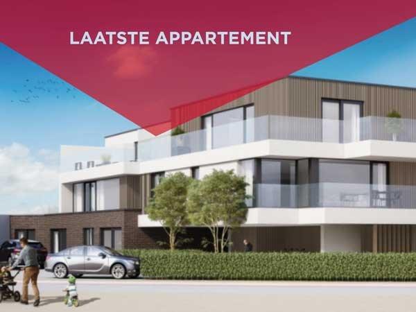 Nieuwbouwappartementen te koop in Residentie De Sweve - Zwevezele