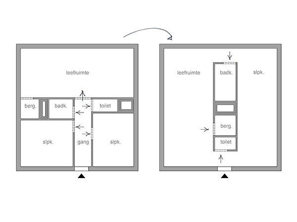 De Vlieger is het vierde gebouw van het Leanderhof. Een nieuwbouw project in het centrum van Zwevegem. De appartementen worden gebouwd volgens het smart-on principe, wat betekend dat ze de verloren ruimtes zoals een gang slim weg gewerkt hebben en er dus meer ruimte is voor de leefruimtes zoals een living en keuken