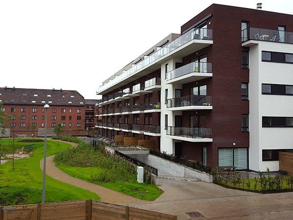 appartement te koop kortrijk ERA Becue nieuwbouw park 1302