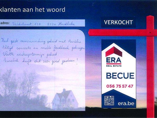 Klanten aan het woord immokantoor era becue for Huizenverkoop site