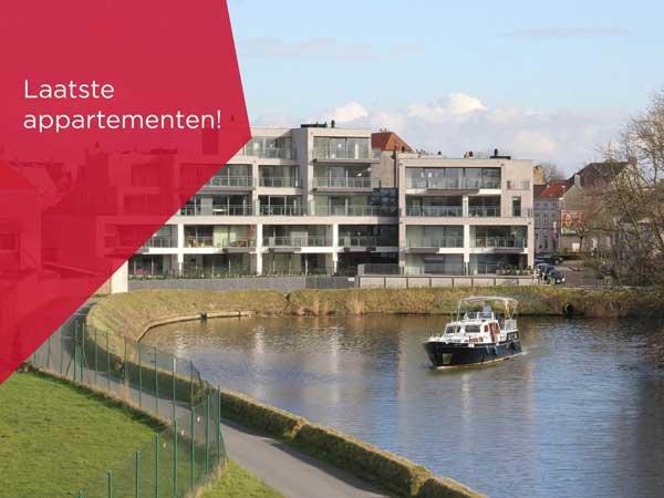 Nieuwbouw Woning te koop Veurne - Waterkant - immokantoor Veurne