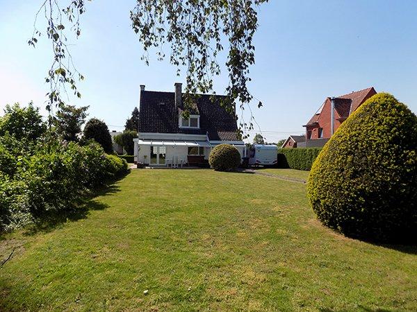 huis te koop in Kuurne, mooie tuin