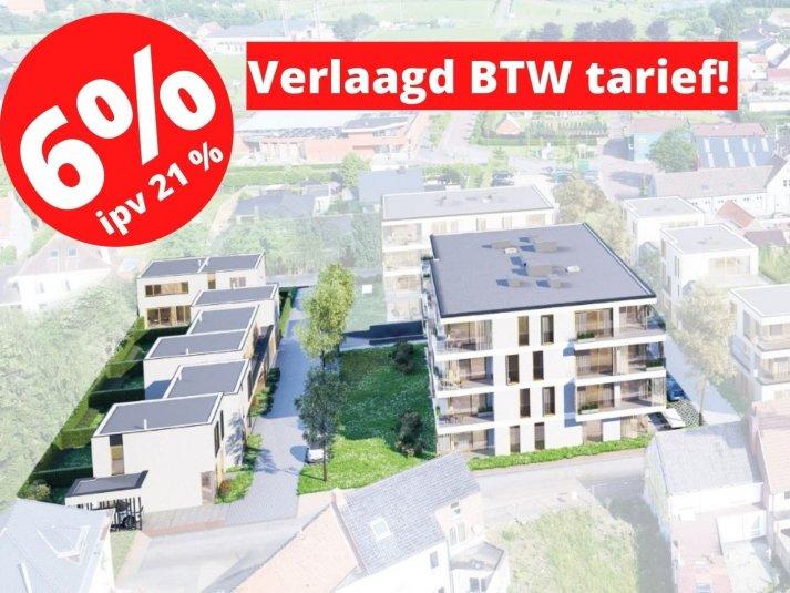 Nieuwbouwappartement met 3 slaapkamers - 't Hof van Wingene