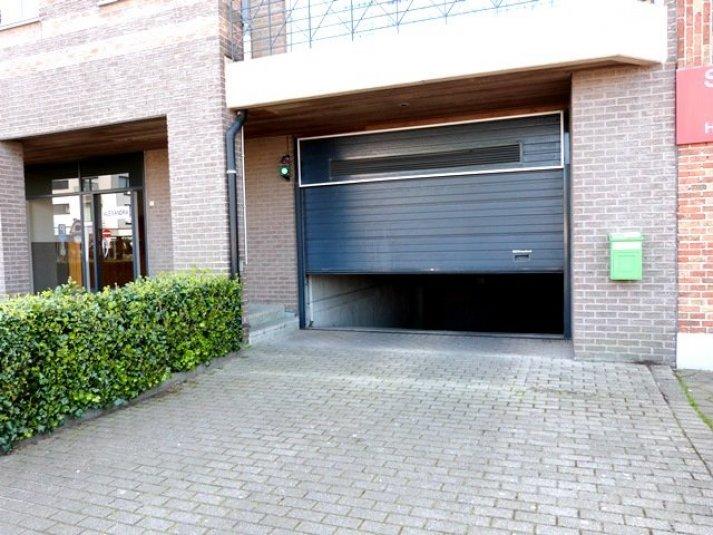 Ondergrondse garage in het centrum van Koksijde !