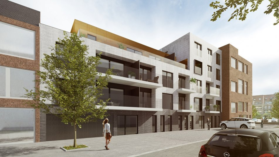 Nouvel appartement Graanmarkt 75m², 2 chambres + terrasse
