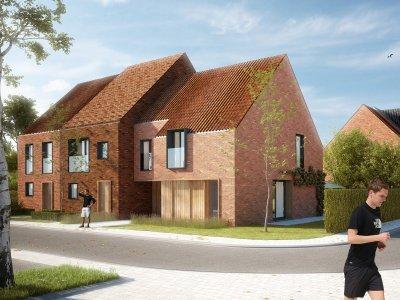 ERA Becue Te koop Nieuwbouwwoningen Langwater te Kortrijk - Kwalitatieve nieuwbouwwoningen met tuin en garage