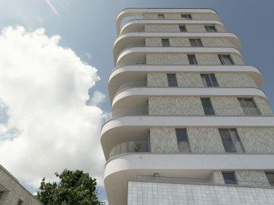 Ruim penthouse in de woontoren (8ste verdieping)